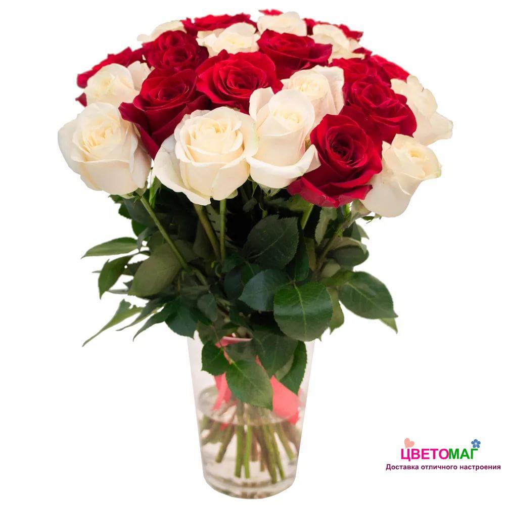 Фото букет цветов белых роз
