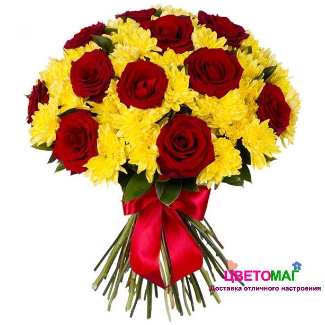 Цветов, цветы розы и хризантемы фото