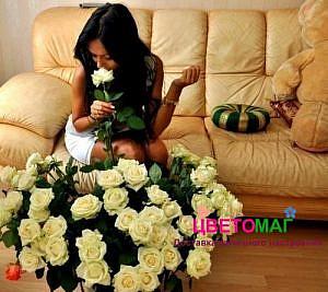 Заказать цветы анонимно