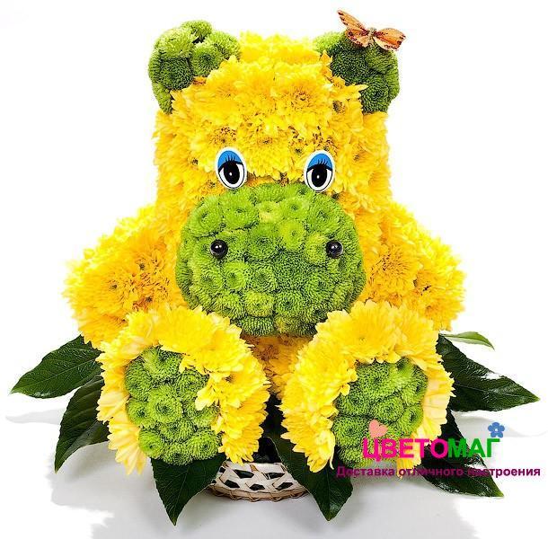 Игрушки из цветов купить в спб недорого, цветы заказать астана