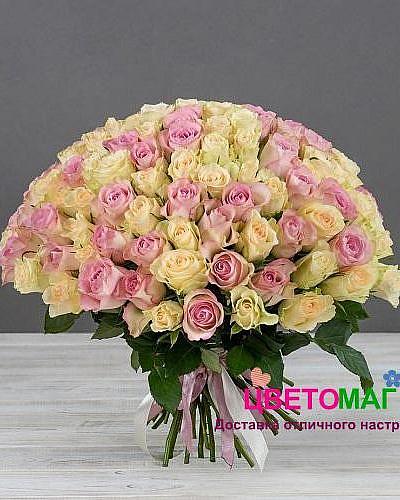 Букет 101 кенийская роза
