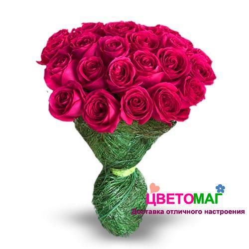 Букет 21 розовая роза Pink Floyd 50 см (Эквадор)