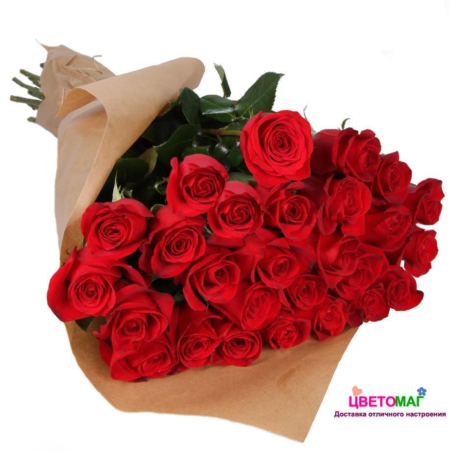 Букет красных роз спб, состоит белых красных