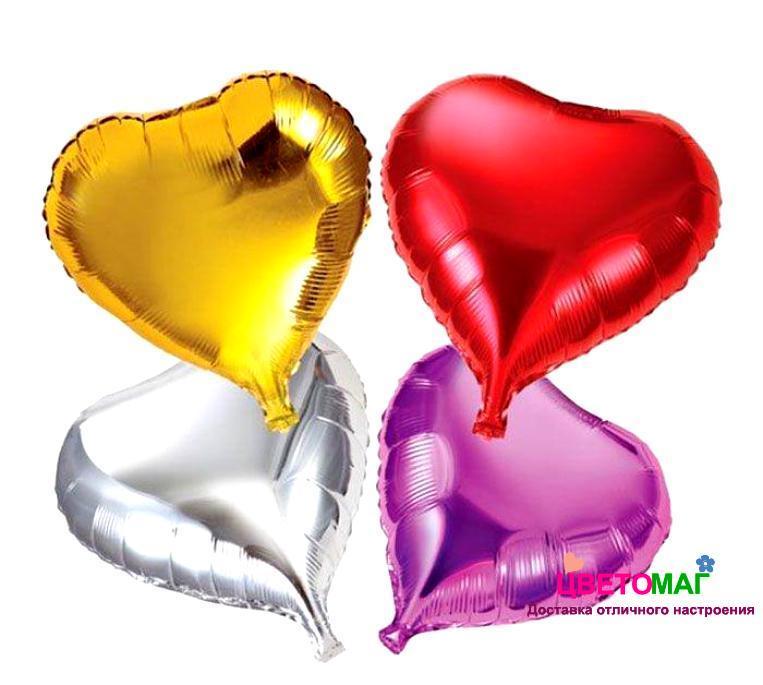 Фигура фольгированная сердце