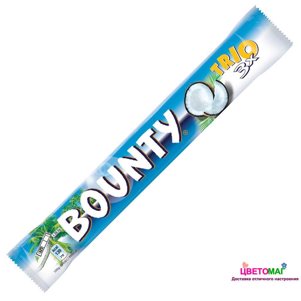 Шоколадка баунти 90г.