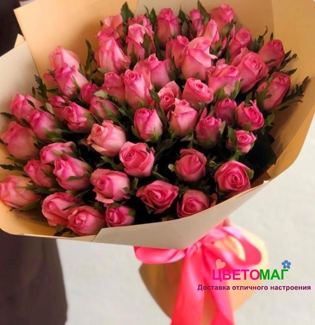 Букет из 51 розы (Кения)