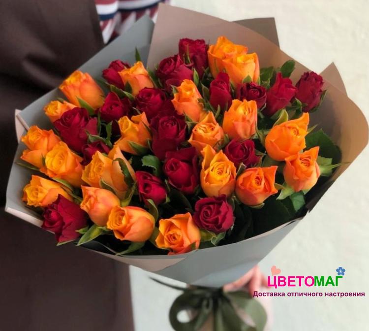 Букет из 31 розы (Кения)