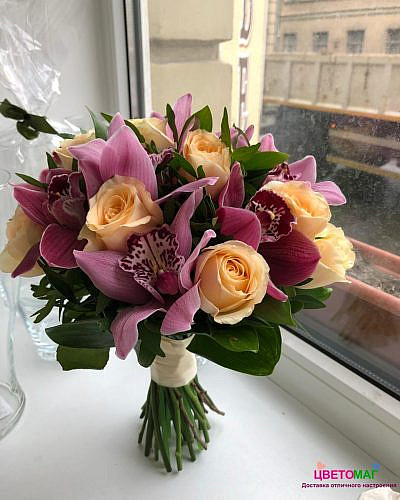 Букет Дивная орхидея