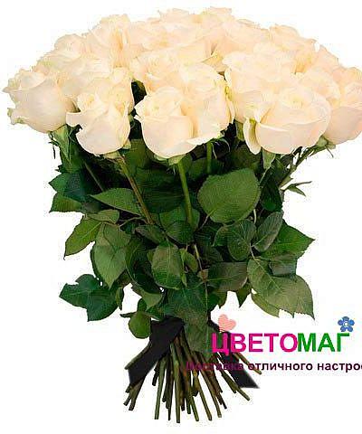 Букет 30 белых роз